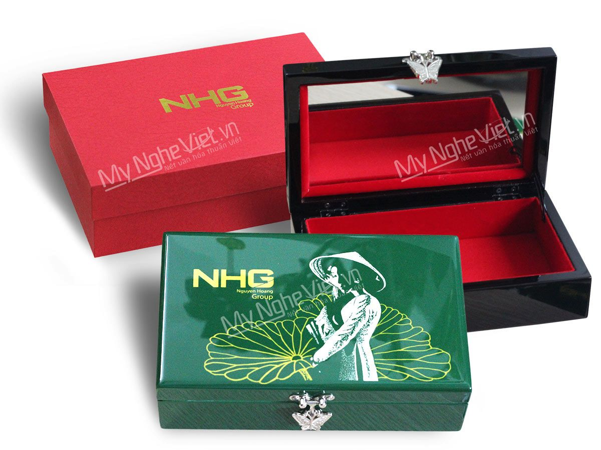 Hộp trang sức sơn mài Nguyễn Hoàng Group