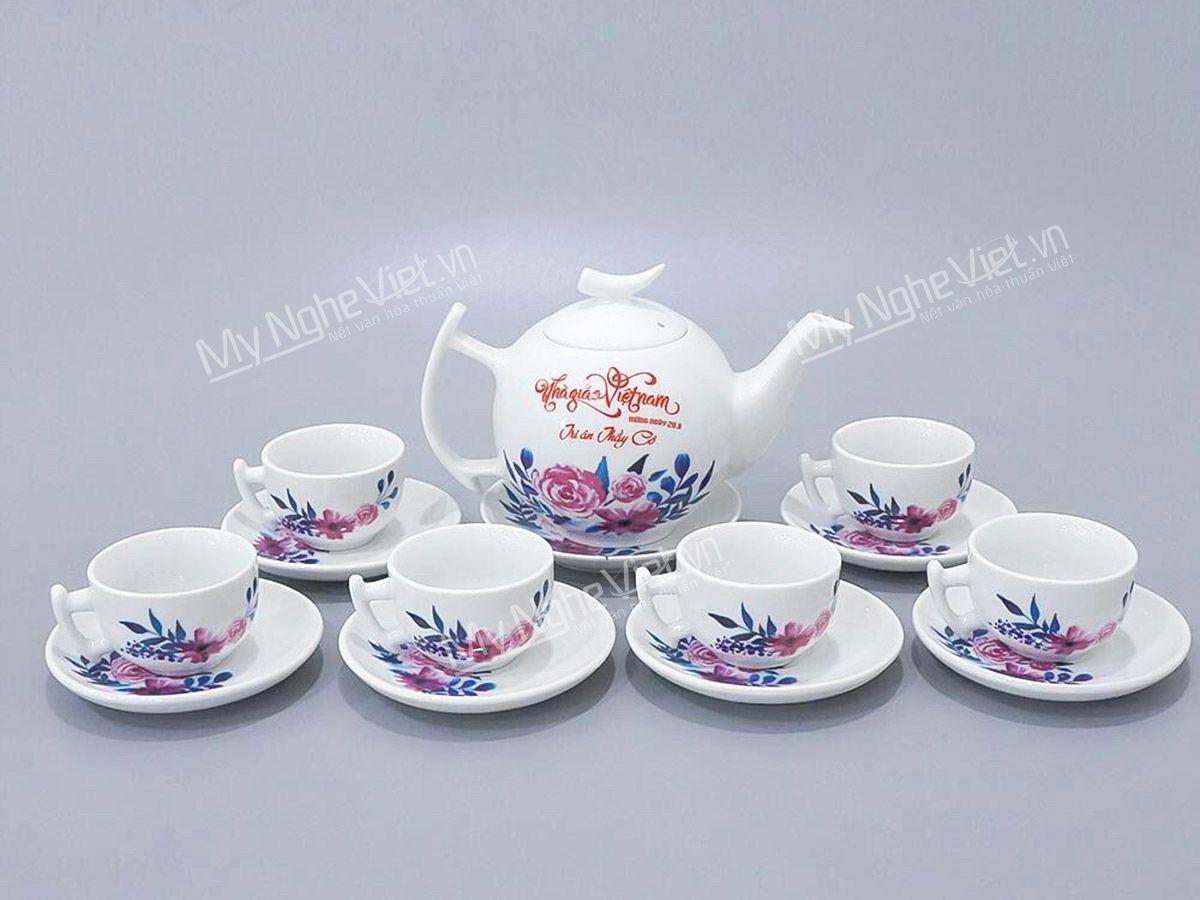 Bình trà tri ân thầy cô giáo