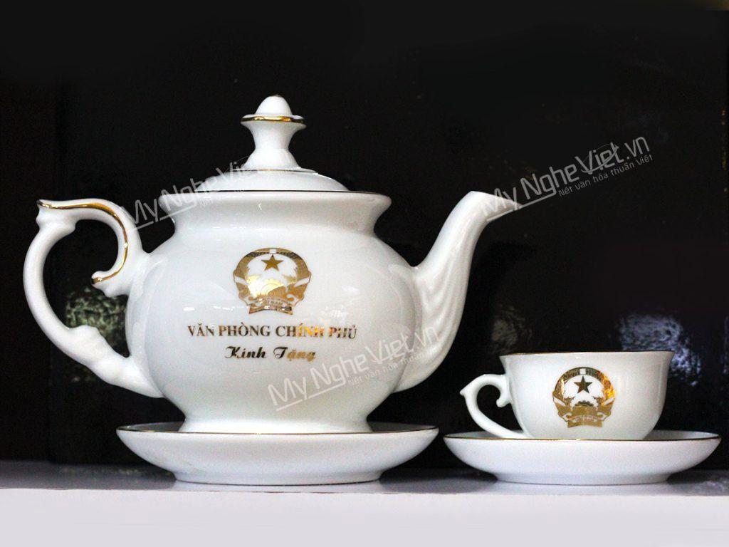 Bộ bình trà Văn Phòng Chính Phủ