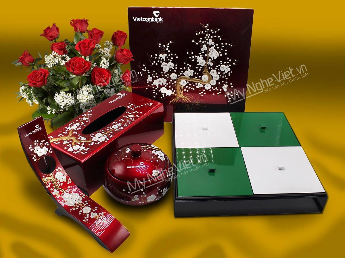 Bộ quà tặng Tết VIP của Ngân hàng Vietcombank