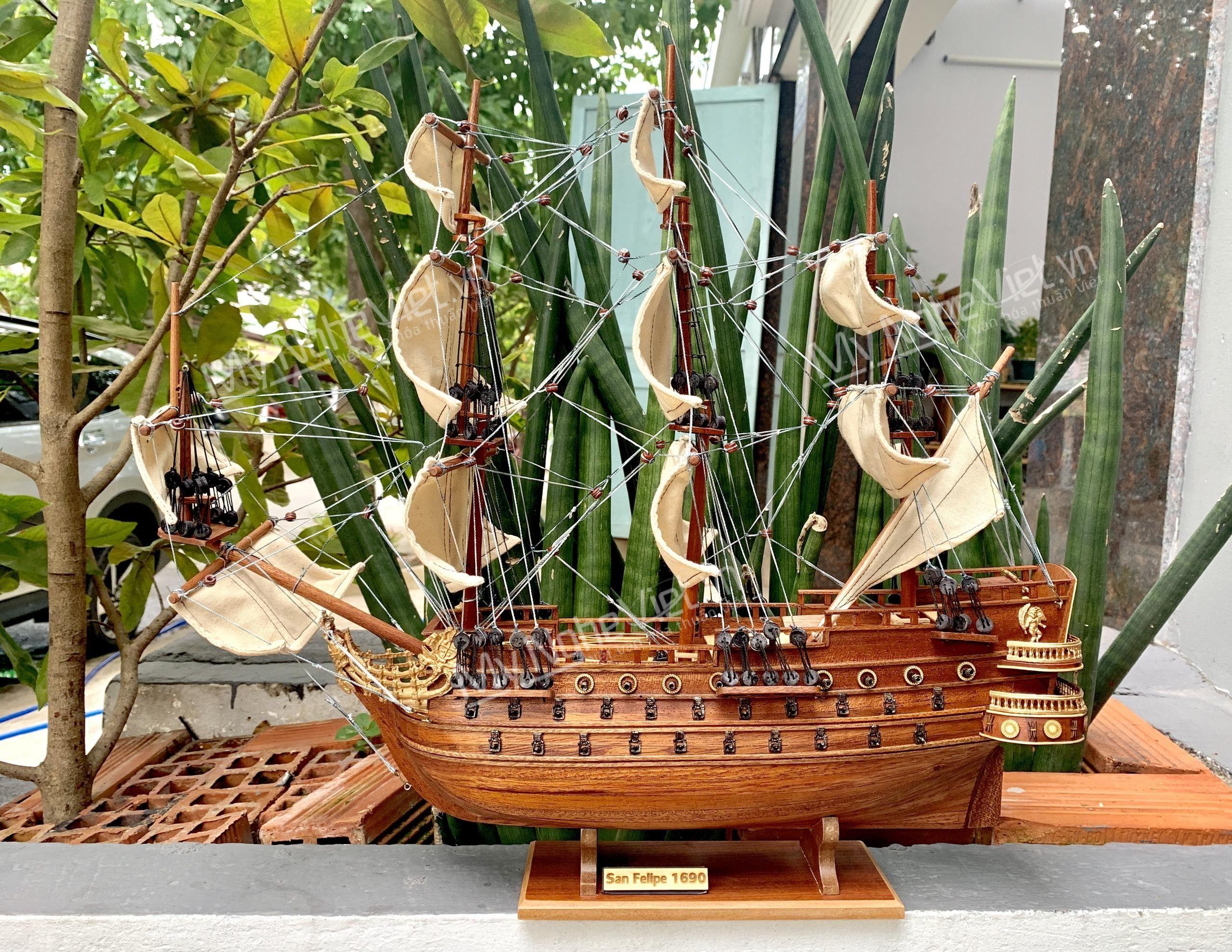Mô Hình Tàu Thuyền Chiến Cổ Wasa