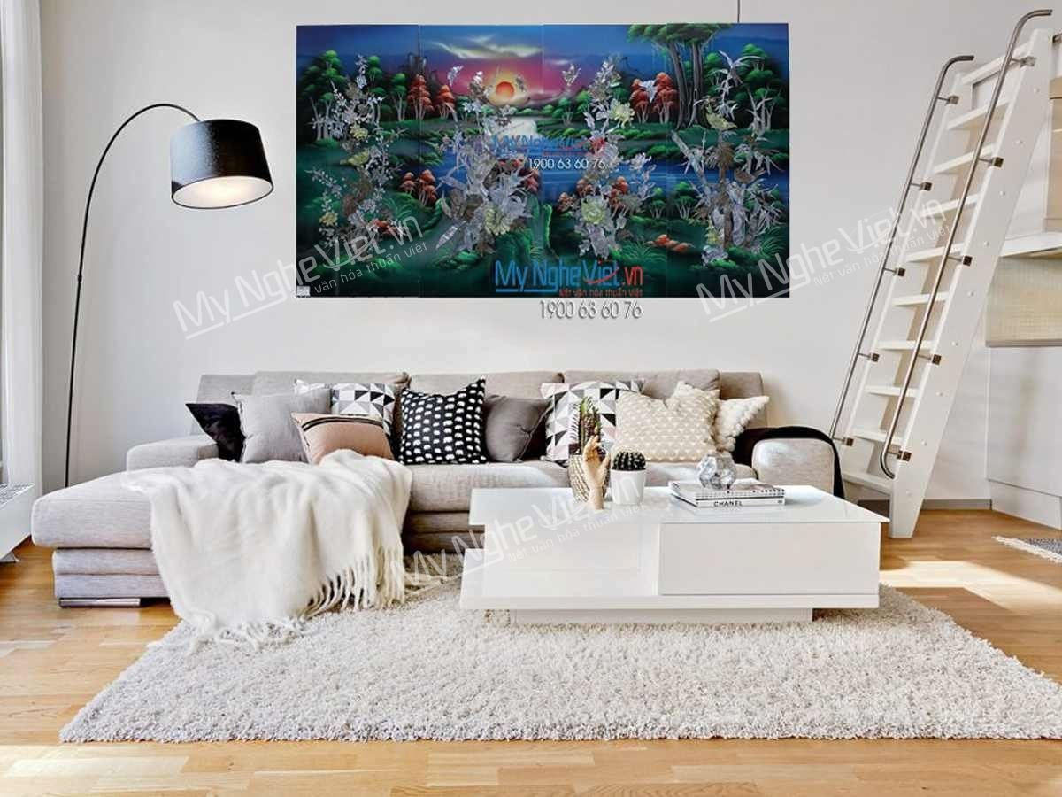 Tranh sơn mài treo tường đẹp